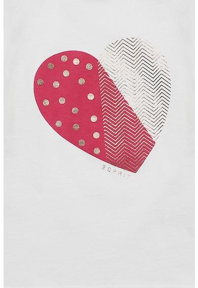 Esprit Bluza cu imprimeu grafic Fete