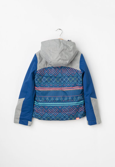 ROXY Jacheta cu gluga si protectie pentru zapada, pentru sporturi de iarna Fete
