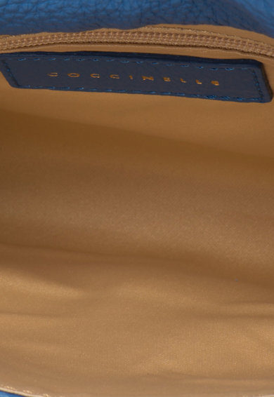 COCCINELLE Geanta plic mica de piele cu bareta detasabila din lant Sibilla Femei