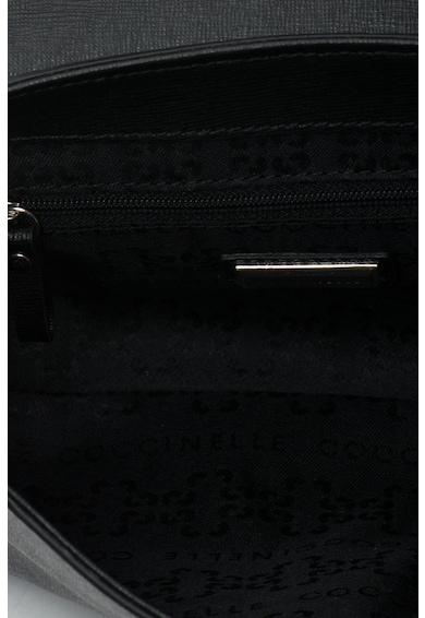 COCCINELLE Geanta de umar din piele Saffiano cu bareta convertibila din lant New Queency Femei
