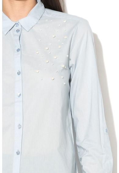 Only Camasa decorata cu perle sintetice Pearl Fox Femei