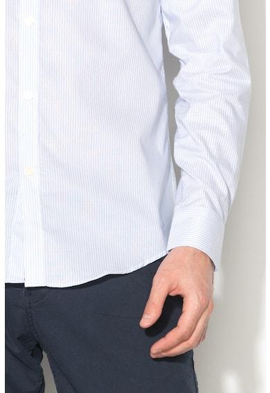 Esprit Camasa regular fit in dungi cu terminatie rotunjita Barbati