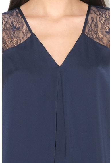 GUESS JEANS Bluza fara maneci cu insertie de dantela Femei