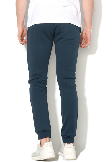 Le Coq Sportif Pantaloni jogger slim fit cu imprimeu logo Barbati