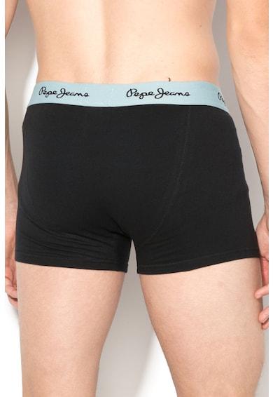 Pepe Jeans London Set de boxeri cu banda elastica Steeve - 3 perechi Barbati