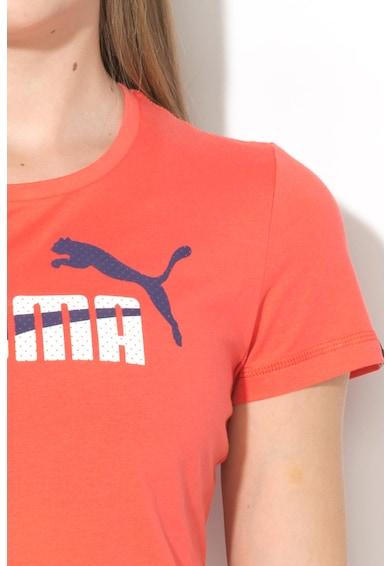 Puma Tricou regular fit cu imprimeu logo frontal Fun Femei
