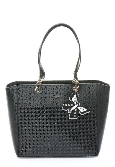 Guess Geanta shopper cu model logo Flutter Femei
