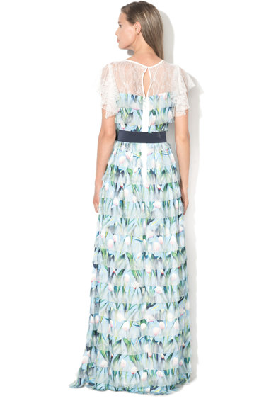 NISSA Maxi  bővülő ruha fodrokkal női