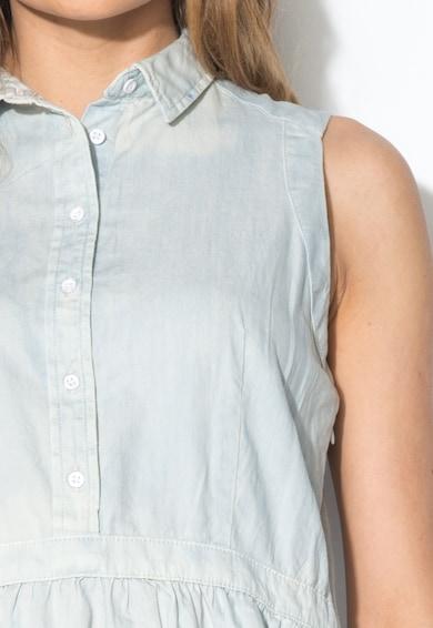 Levi's Rochie albastru decolorat din denim Femei
