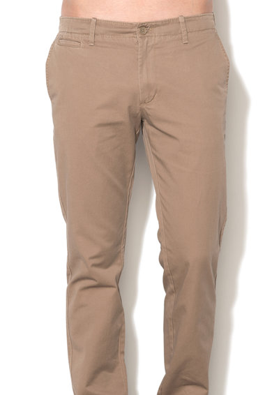 United Colors of Benetton Pantaloni chino slim fit maro nisip Barbati