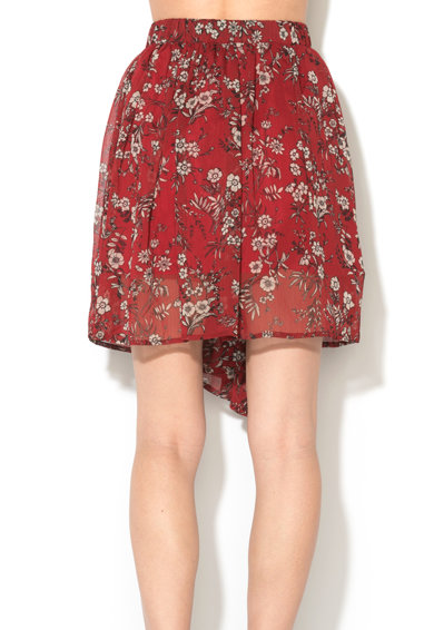 Pepe Jeans London Fusta asimetrica rosu inchis Tabatha Femei