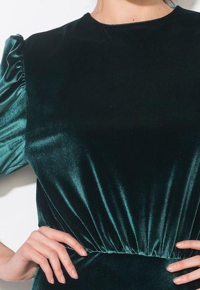 Zee Lane Collection Zöld Bársonyos Anyagú Maxiruha női