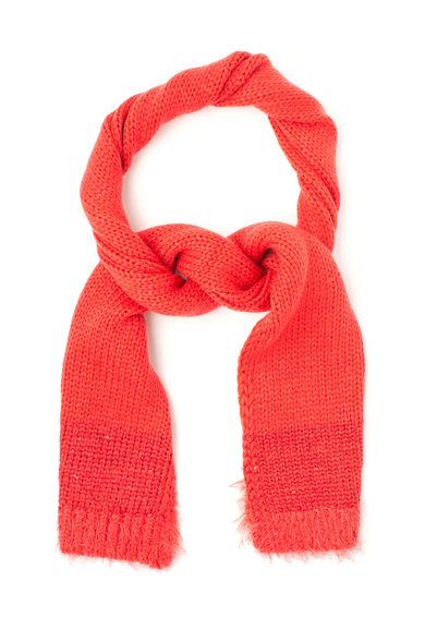 United Colors of Benetton Fular rosu tricotat Fete