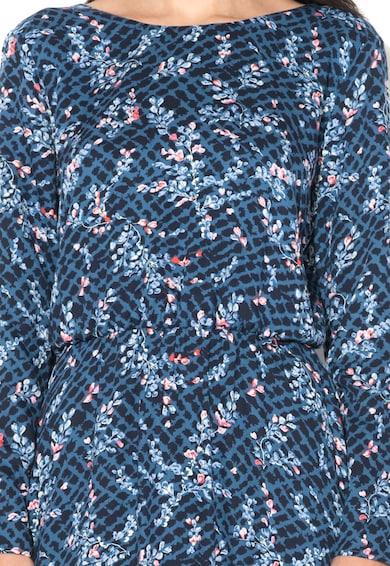 Pepe Jeans London Rochie albastru inchis cu imprimeu floral Martha Femei