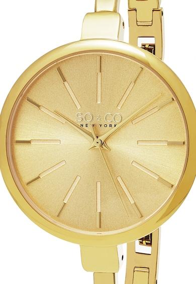 SO&CO New York Set auriu cu ceas si bratari Madison Femei