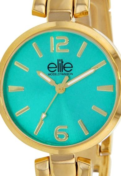 Elite Set auriu de ceas si colier Femei
