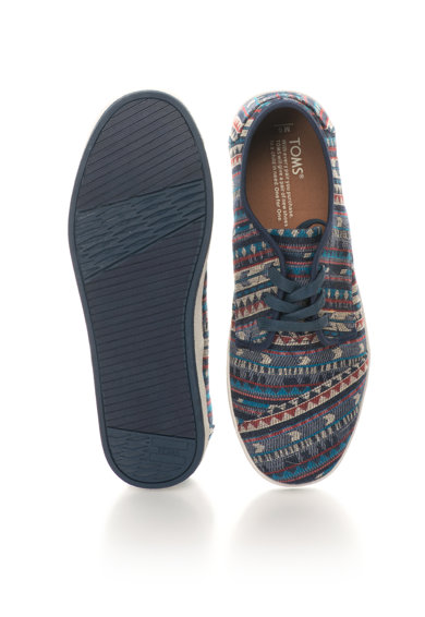 TOMS Pantofi sport cu model etnic Paseo Barbati
