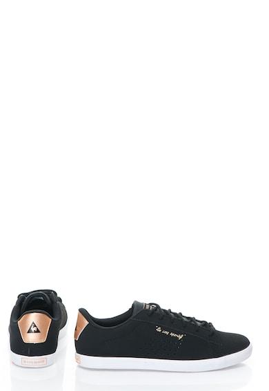 Le Coq Sportif Pantofi casual negri perforati Agate Femei