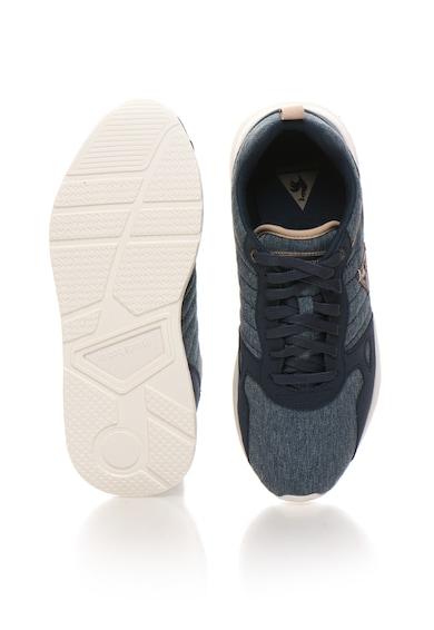 Le Coq Sportif Tenisi albastri LCS R600 cu aspect de denim Barbati