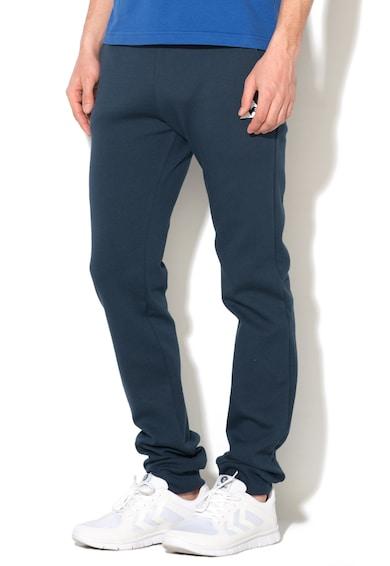 Le Coq Sportif Pantaloni sport slim fit bleumarin Barbati