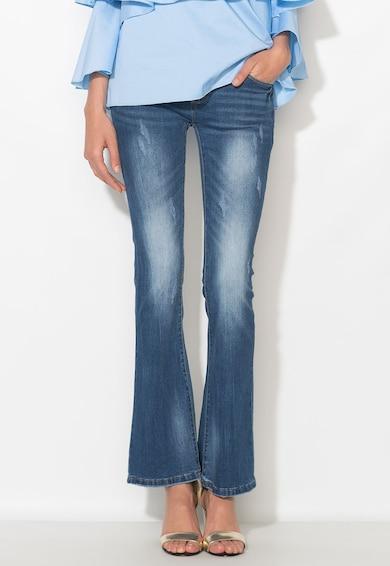 Zee Lane Denim Jeansi albastri evazati Femei