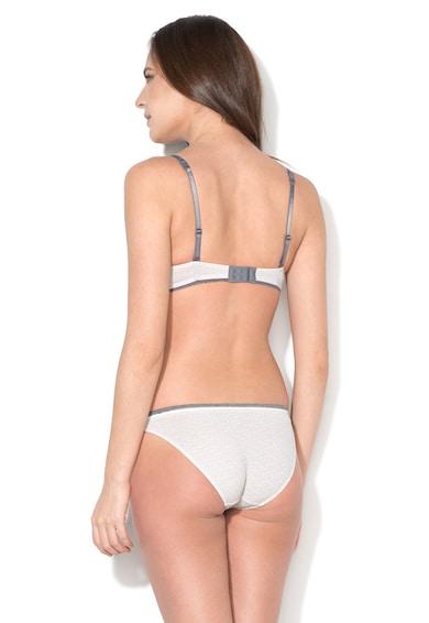 ESPRIT Bodywear Sutien push-up alb cu gri Alexis Femei