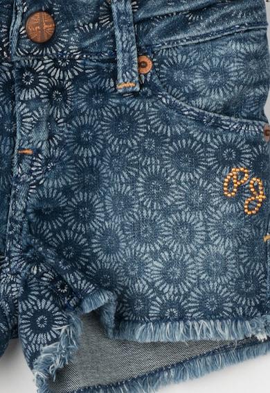 Pepe Jeans London Pantaloni scurti albastru mineral din denim Tinka Fete
