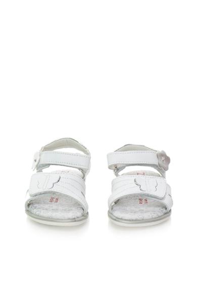 Zee Lane Sandale albe de piele Fete