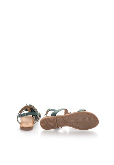 Gioseppo Sandale albastru petrol de piele intoarsa Lariku Femei