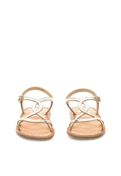 Gioseppo Sandale aurii de piele Vanila Baieti