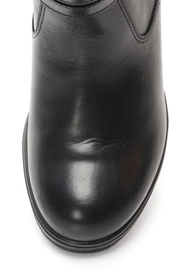 Lumberjack Botine negre din piele Ginevra Femei