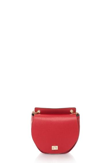 Zee Lane Collection Geanta crossbody rosie de piele Femei