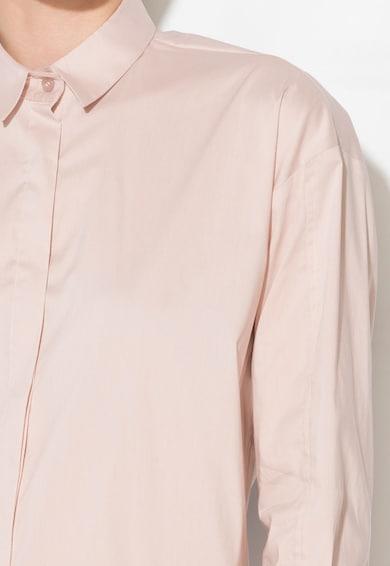 Zee Lane Denim Camasa roz prafuit lunga Femei