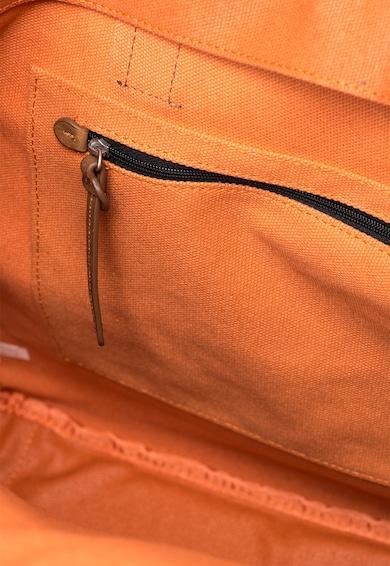 Clarks Geanta oranj stins cu garnituri de piele The Gray Femei