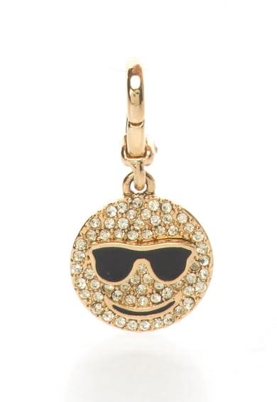 Juicy Couture Pandantiv auriu cu fata zambitoare Femei