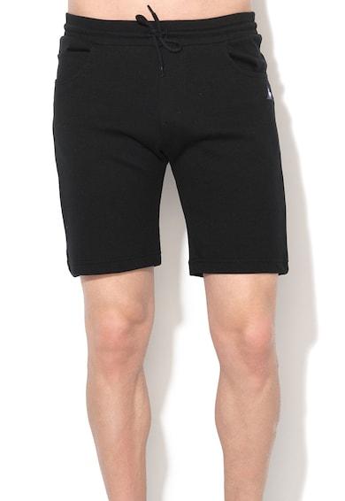 Le Coq Sportif Pantaloni scurti sport negri Barbati