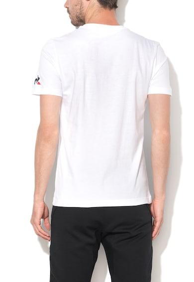 Le Coq Sportif Tricou alb optic cu imprimeu grafic Barbati