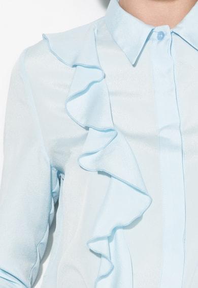 Zee Lane Collection Camasa bleu cu volane Femei