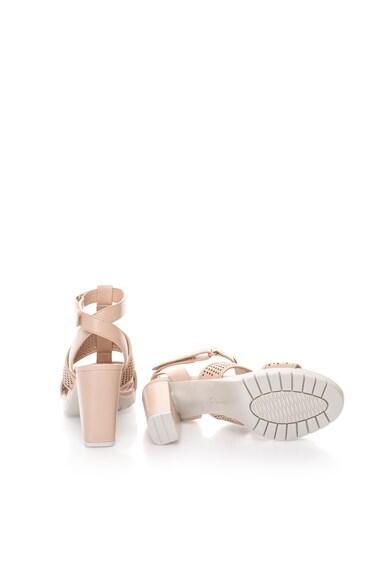 Clarks Sandale roz pal de piele Pastina Castle Femei