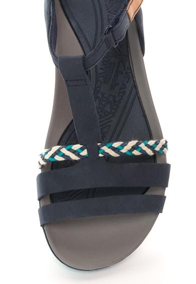 Clarks Sandale bleumarin de piele Tealite Grace Femei