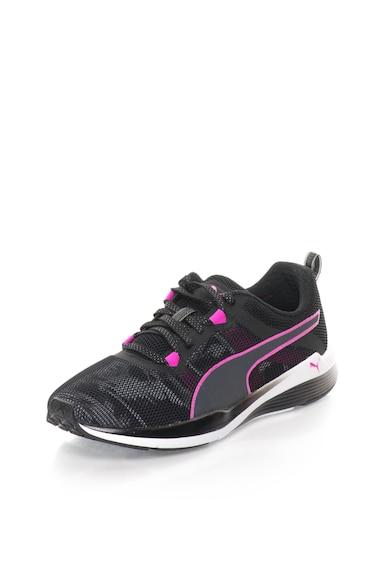 Puma Pantofi sport negru cu fucsia Pulse Ignite XT Femei