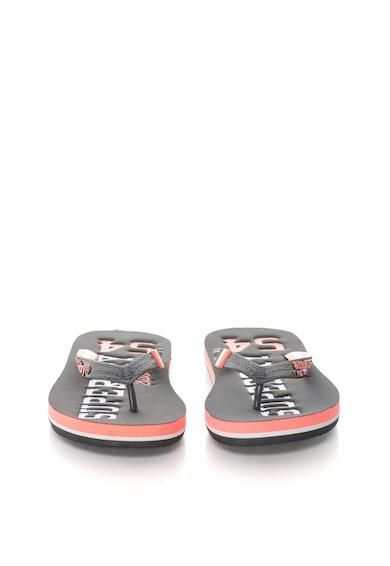SUPERDRY Papuci flip-flop multicolori Track&Field Femei
