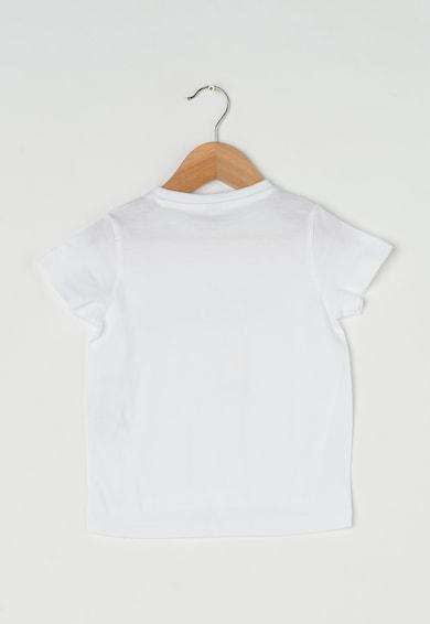 Esprit Tricou alb cu imprimeu stralucitor discret Fete