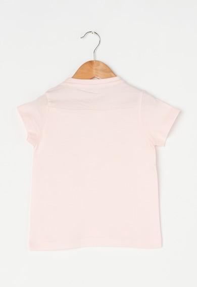 Esprit Tricou roz pastel cu imprimeu stralucitor Fete