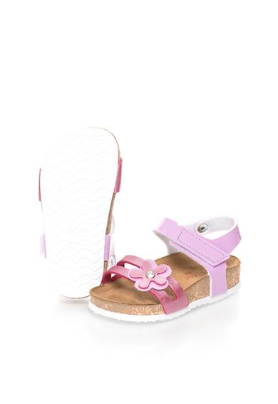 Zee Lane Sandale in nuante de roz cu detaliu floral Fete