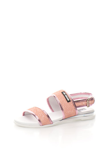 Love Moschino Sandale stralucitoare in nuante de roz Femei