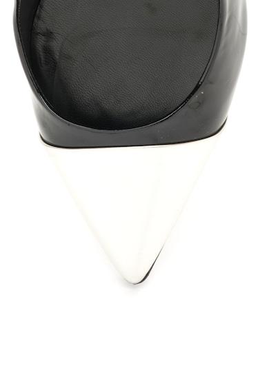 Richmond Pantofi negru cu alb de piele lacuita cu toc stiletto Femei
