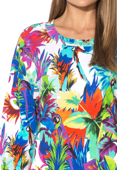 Love Moschino Rochie cu model tropical multicolor Femei