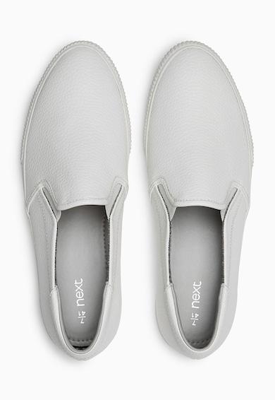 NEXT Pantofi slip-on albi Femei