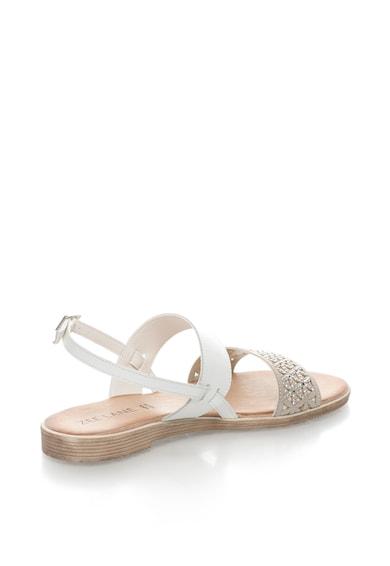 Zee Lane Sandale de piele peliculizata cu strasuri Bambi Femei